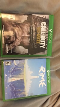 xbox one games. $30 each   $50 for the pair Boise, 83705
