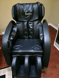 black leather office rolling chair Fairfax, 22033