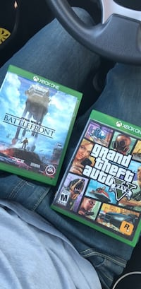 three Xbox One game cases Germantown, 20874
