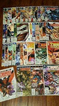 Teen Titans New 52 complete comic book set run lot Toronto, M3C 4J1