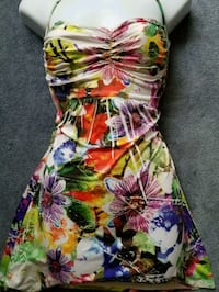 Sexy multicolored dress or top with tie around nec Lakewood, 90713