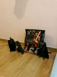 Star Wars backpack plus characters that Star Wars Oslo, 1172