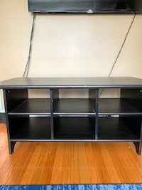 black wooden 3-layer TV stand Waltham, 02453