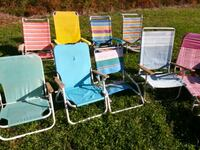 four assorted-color folding chairs Waldorf, 20603