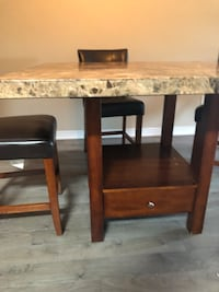 two brown wooden side tables Vaughan, L6A 0B1