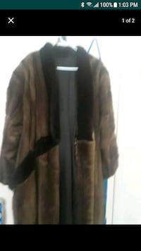 Full length mink coat College Park, 20740
