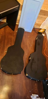 Hard shell acoustic guitar cases