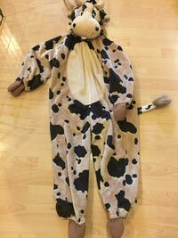 Cow costume size 7-8 year old unisex  Laval, H7P 5X1
