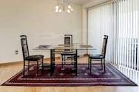 Elegant Dinning room table and 4 contemproary  GERMANTOWN