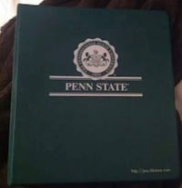 Green Penn State Binder barely used