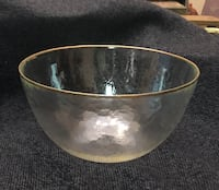 Gold rimmed bowl Tulsa, 74133