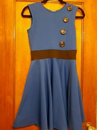 Women's blue and black dress  Toronto, M6C 1C5