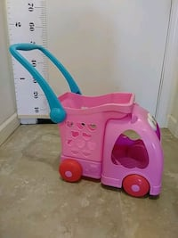 - doll shopping cart and stroller