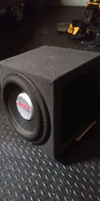 "12"" Boston G5 speaker& box"