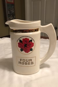 """Four Roses Pitcher-7"""" tall Mullica Hill, 08062"""