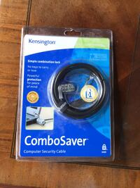 Computer security comb. lock / cable, Kensington, Combosaver, New Hoover, 35226
