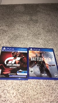 Two sony ps4 games, $25 each obo Calgary, T2Y 3A8