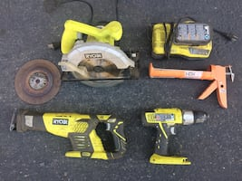 Rechargeable Tool Set