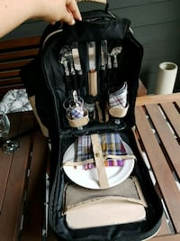 Wine and cheese picnic backpack New Westminster, V3L 3M2
