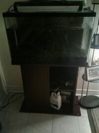 FISH TANK AND STAND EVERYTHING INCLU.$200 OBO