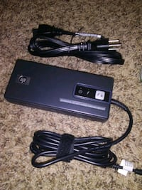Hp 90 dual fan an charger with big and small jack