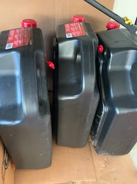3x 16 QT oil container  - need to empty
