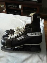 pair of black Bauer ice skates Brampton, L6T 2E3