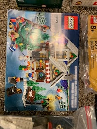 LEGO Lot Christmas Village plus more