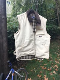 white button-up vest GAITHERSBURG