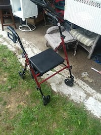 Foldable walker with seat and storage Johnstown, 15904