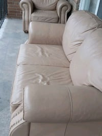 2 peices couch with 1 small rep Mississauga, L4T 2N8