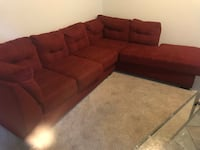 Red sectional  Camarillo, 93010