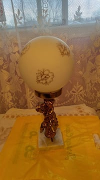 Vintage electric table lamp