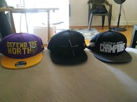 Brand new snapback hats $15 each Charlotte, 28208