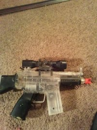 black and gray airsoft assault rifle North East, 21901