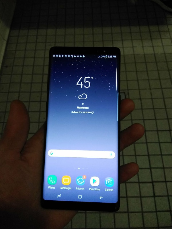 Sprint galaxy note 8