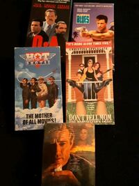 Collectible VHS Movies Mississauga, L5R 3C7