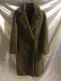 Men's Long fur lined winter coat