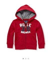 red and white  pullover hoodie Edmonton