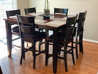 7-piece High top kitchen table Alexandria, 22315