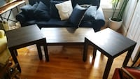 Espresso Wood Coffee and Accent tables
