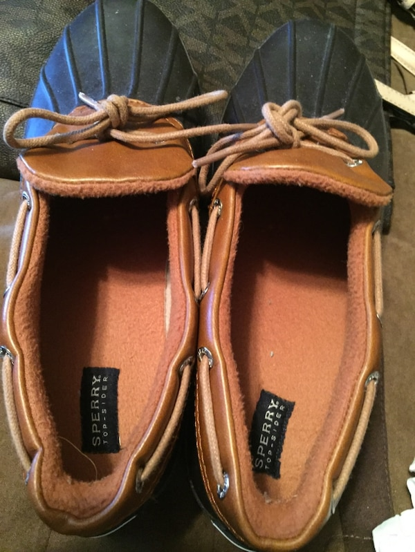 e7e6582d8 Used black and brown sperry top sider shoes for sale in Kodak - letgo