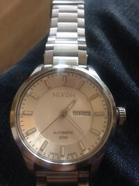 NIXON SWISS AUTOMATIC II STEEL