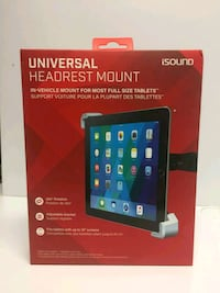 Universal Headrest for IPad and Android tablets Reston, 20194