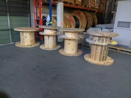 Large cable reels