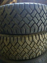 (2)225/65/17 Good Year used tires