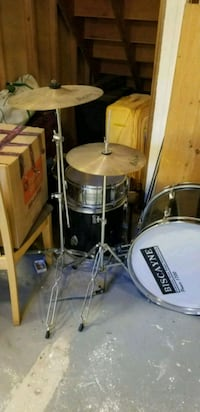 black and gray drum set Lowell, 01851