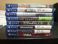 PS4 Games $50 for all or $10 each Toronto, M1R 2C5