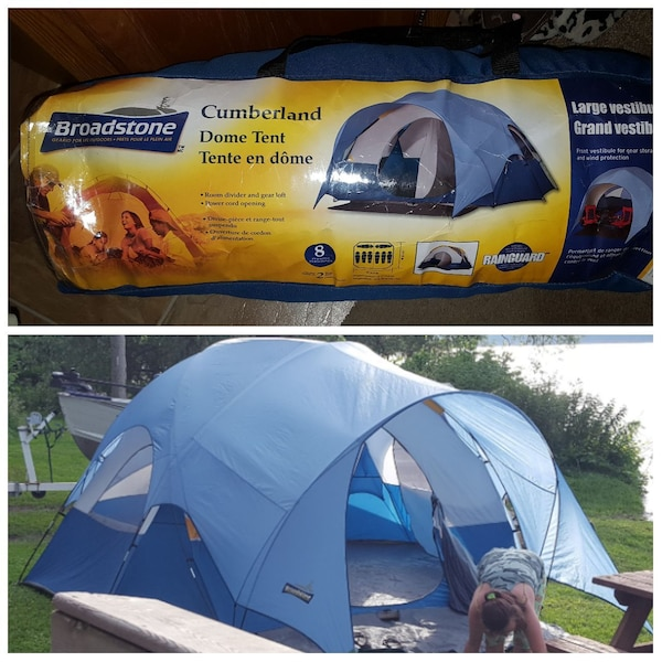 check out aa2aa 80766 Broadstone Cumberland 8 person tent