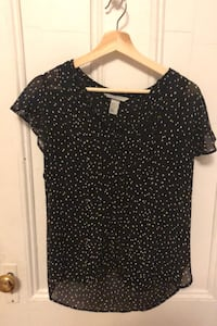 Black and white shirt (Size 14 - H&M)